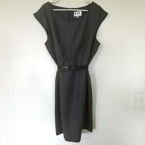 Gray Sheath Dress